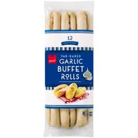 Pams Garlic & Rosemary Buffet Rolls 12pk