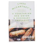 Linda McCartney's Vegetarian Red Onion & Rosemary Sausages 300g