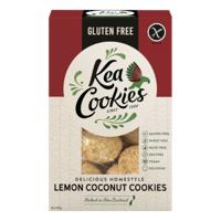 Kea Cookies Gluten Free Lemon Coconut Cookies 250g