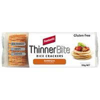 Fantastic Thinner Bite BBQ Rice Crackers 100g