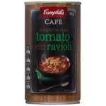 Campbell's Cafe Tomato with Spinach Ricotta Ravioli Soup 500g