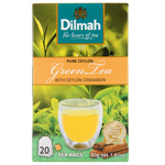 Dilmah Green Tea with Ceylon Cinnamon Tea Bags 20ea