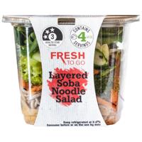Fresh To Go Layered Soba Noodle Salad 277g
