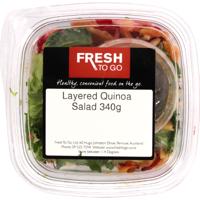 Fresh To Go Layered Quinoa Salad 340g