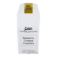 Totara Cottage Balsamic Cheese Crackers 125g