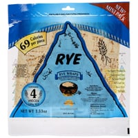 Mountain Bread Rye Wraps 100g
