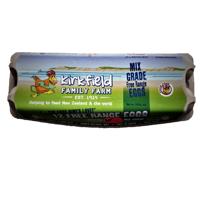 Kirkfield Family Farm Free Range Mixed Grade Eggs 12ea
