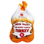 Canter Valley Free Range Farmed Turkey Size 6 Frozen 6ea