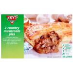 Fry's Vegan Country Mushroom Pies 2pk