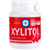Thai Lotte Xylitol Strawberry Mint Flavour Sugar Free Gum 58g