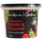 Waikare Kitchen Caramelised Tomato & Tamarind Curry & Cooking Paste 200g