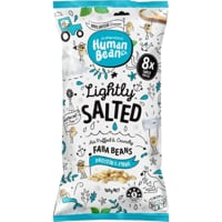 Human Bean Co Faba Beans Lightly Salted Snack