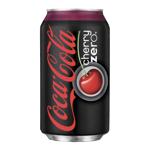 Coca Cola Zero Cherry Soft Drink 355ml