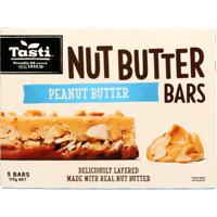 Tasti Peanut Butter Nut Butter Bars 175g