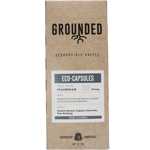 Grounded Responsible Coffee Eco Capsules Colombian Strong Coffee 10eae 10ea