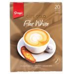 Gregg's Cafe Gold Flate White 20 Pack 20ea
