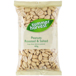 Summer Harvest Roasted Salted Peanuts 400g