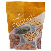 Ceres Organics Peanuts Roasted & Salted 300g