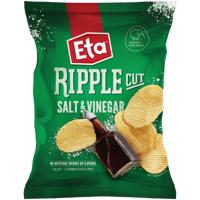 Eta Ripple Cut Salt & Vinegar Potato Chips 40g