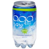 Aqa Lite Apple Sparkling Water 350ml