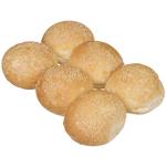 Bakery Round Sesame Seeds Rolls 6ea