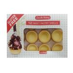 Lincoln Bakery Gluten Free Sweet Pastry Shells 12ea