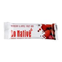 Go Native Raspberry Apple Fruit Bar 40g