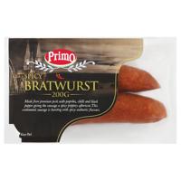 Primo Smallgoods Spicy Bratwurst Sausage 200g