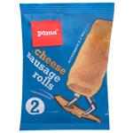Pams 2 Cheese Sausage Rolls 135g
