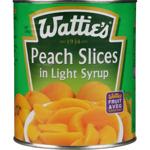 Wattie's Peach Slices In Light Syrup 2.95kg