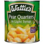 Wattie's Pear Quarters In Light Syrup 3kg