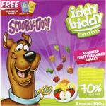 Hot Shots Scooby Doo Iddy Biddy Fruit Bits 160g