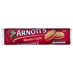 Arnott's Monte Carlo Jam & Cream Biscuits 250g