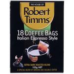 Robert Timms Italian Espresso Coffee Bags 105g