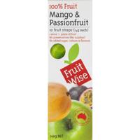 Fruit Wise Mango & Passionfruit Fruit Straps 10ea
