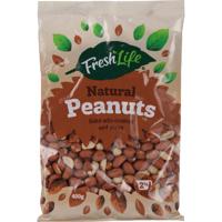 Fresh Life Natural Peanuts 400g