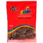 Rainbow Pineapple Chunks Confectionery 100g