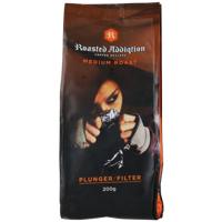 Roasted Addiqtion Medium Roast Plunger Filter Coffee 200g