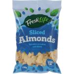 Fresh Life Sliced Almonds 130g