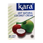 Kara UHT Natural Coconut Cream 200ml