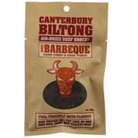 Canterbury Biltong Air-Dried Barbeque Beef Snacks 40g