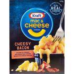 Kraft Cheesy Bacon Mac & Cheese Frozen Meal 400g
