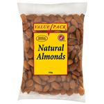 Value Natural Almonds 350g