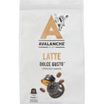 Avalanche Latte Dulce Gusto Coffee Capsules 8pk