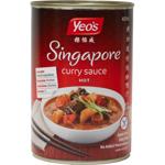Yeo's Hot Singapore Curry Sauce 400ml