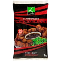 Leader Flamegrilled Meatballs 1kg