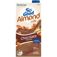 Sanitarium So Good Sanitarium Chocolate Almond Milk 1l