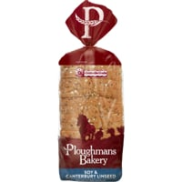 Ploughmans Bakery Soy & Canterbury Linseed Bread 750g