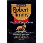 Robert Timms Mocha Kenya Style Light Roasted Blend Ground Coffee 200g