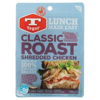 Tegel Shredded Classic Roast Chicken Twin Pack 100g